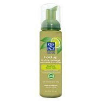Kiss My Face Organic Hair Care Paraben Free Hold Up Styling Mousse 8.5 oz