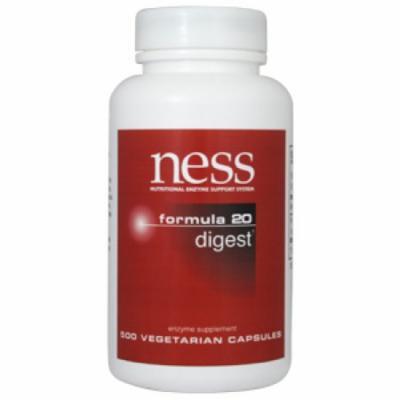 Ness Enzymes, Digest #20 500 vegcaps