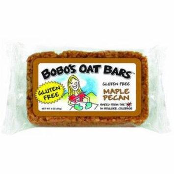 Bobo's Oat Bars Gluten Free Maple Pecan Bar, 3 oz, (Pack of 12)