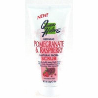 Queen Helene Pomegranate Facial Scrub 6 oz. (3-Pack) with Free Nail File