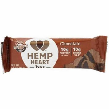 Manitoba Harvest Chocolate Hemp Heart Bar, 1.6 oz, (Pack of 6)
