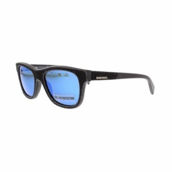 DIESEL Sunglasses DL0111 01X Shiny Black 52MM