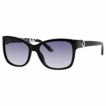 Liz Claiborne Sunglasses 559/S 0807 Black White