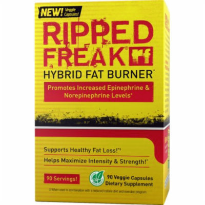 PHARMAFREAK RIPPED FREAK - 70CT - USA Hybrid Fat Burner & Energy Support BURN FAT AND LOSE WEIGHT FAST!! TOP RATED!!