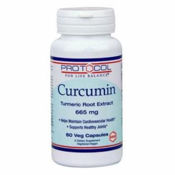 Protocol for Life Balance, Curcumin 665 mg 60 vegcaps