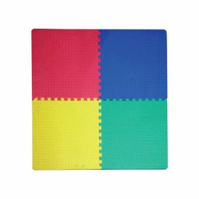 Bulk Buys Multi-Use Foam Play Mat with Interlocking Squares, Case of 1
