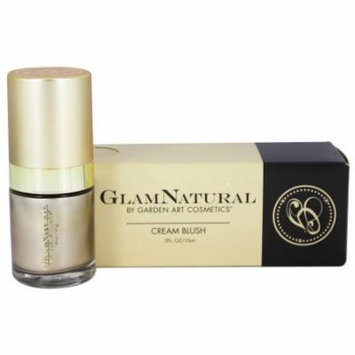 GlamNatural - Cream Blush Barely There - 0.5 oz.