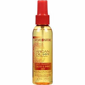 Creme Of Nature Argan Oil Gloss & Shine Mist 4oz (3 Pack)