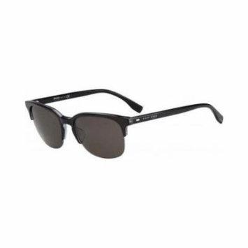 Hugo Boss Men's Sunglasses 0633/S - Rectangular - Grey/Grey