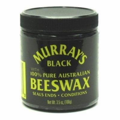 Murrays Black Beeswax 3.5 oz. Jar (Case of 6)