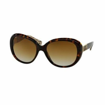 COACH Sunglasses HC 8120 5262T5 Tortoise Sand 57MM