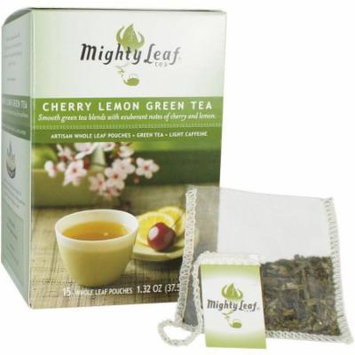 Mighty Leaf Tea Cherry Lemon Green Tea, 15 count, 1.59 oz