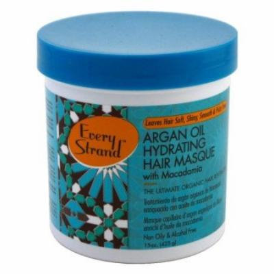 Every Strand Argan Oil Hydrate Hair Masque 15 oz. Jar (Pack of 6)