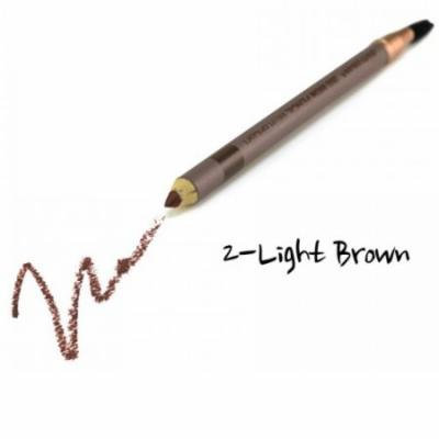 CITY COLOR Duo Brow Pencil With Brush - Light Brown