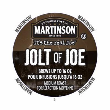 Martinson Coffee Jolt Of Joe, RealCup portion pack for Keurig K-Cup Brewers, 24 Count