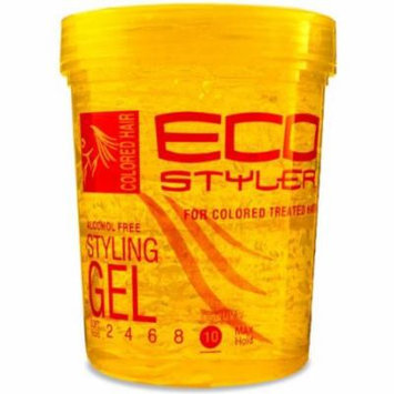 Eco Styling Gel - Yellow 32 oz. (Pack of 2)