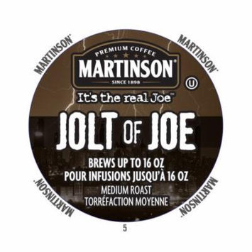 Martinson Coffee Jolt Of Joe, RealCup Portion Pack For Keurig Brewers, 72 Count