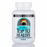 Top 10 Healers� - 60 Tablets by Source Naturals