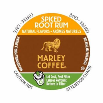 Marley Coffee Spiced Root Rum, RealCup Portion Pack For Keurig Brewers, 48 Count