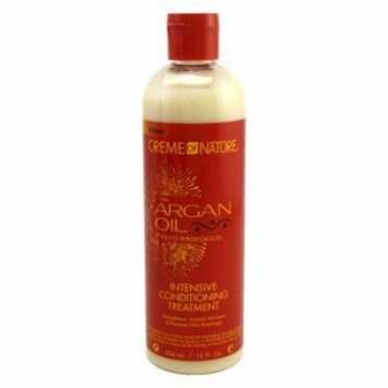 Creme of Nature Argan Oil Condition Intense Treatment 12 oz. (Pack of 6)