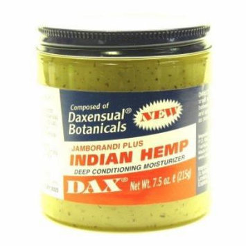 Dax Indian Hemp Conditioner 7.5 oz. (3-Pack) with Free Nail File