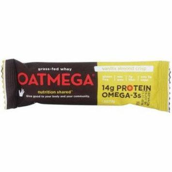 Oatmega Vanilla Almond Crisp Bar, 50g (Pack of 12)