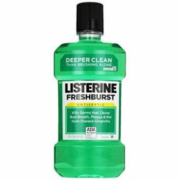 Listerine, Antiseptic Adult Mouthwash Fresh Burst, 1 liter