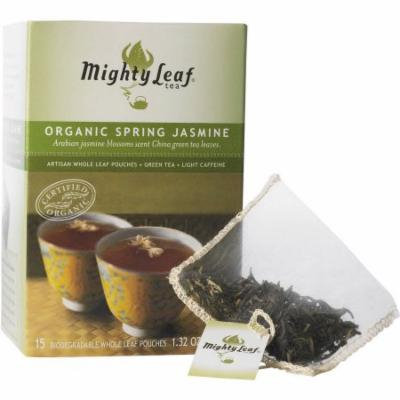 Mighty Leaf Tea Organic Spring Jasmine Tea, 15 count, 1.32 oz