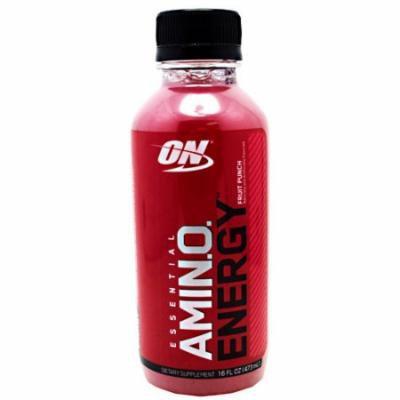 Optimum Nutrition Amino Energy RTD, Fruit Punch, 12- 16 FL oz