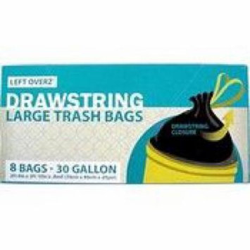 Ddi 30 Gallon Drawstring Trash Bags