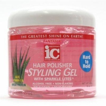 Fantasia Polisher Gel with Sparkles 16 oz. (Hard to Hold) (Case of 6)