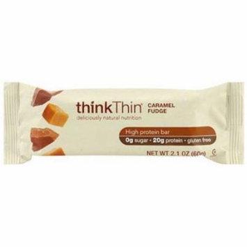 Think Thin Caramel Fudge High Protein Bar, 10.5 oz., (Pack of 10)