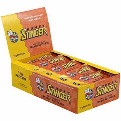 Honey Stinger Peanut Butter Pro Bar, 1.5 oz, (Pack of 12)