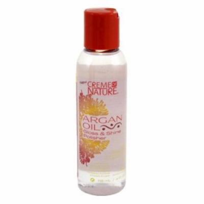 Creme Of Nature Argan Oil Gloss & Shine Polisher 4oz (6 Pack)