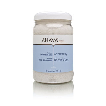 AHAVA Comforting Juniper Mineral Bath Salts 907g/32oz