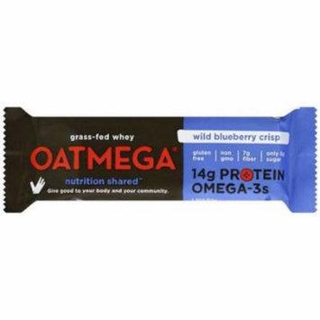 Oatmega Wild Blueberry Crisp Bar, 50g (Pack of 12)