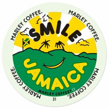 Marley Coffee Smile Jamaica Blend, RealCup Portion Pack For Keurig Brewers, 72 Count