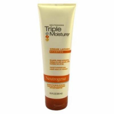 Neutrogena Triple Moisture Cream Shampoo 8.5 oz. (Pack of 6)
