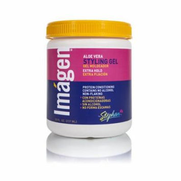 Imagen Extra Hold Styling Gel, 20 Ounce
