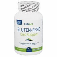 CeliAct - Gluten-Free Diet Support - 60 Capsules