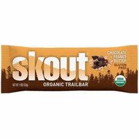 Skout chocolate + Peanut Butter Organic Trailbar, 1.8 oz., (Pack of 12)