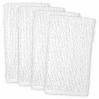 Barmop Towel-Color:White,Quantity:Set of 4