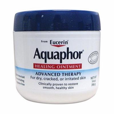 Aquaphor Healing Ointment, Dry, Cracked and Irritated Skin Protectant, 14 Oz