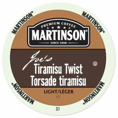 Martinson Coffee Tiramisu Twist, RealCup portion pack for Keurig K-Cup Brewers, 24 Count