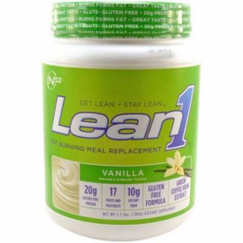 Nutrition53 Lean1 Vanilla Shake Mix, 2 lb, (Pack of 1)