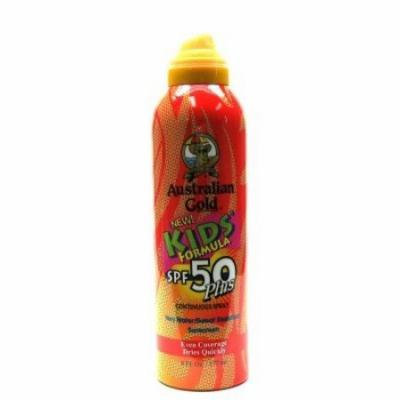 Australian Gold Continuous 6 oz. Spray SPF#50 Plus Kids (3-Pack) with Free Nail File
