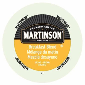 Martinson Coffee Breakfast Blend, RealCup Portion Pack For Keurig Brewers, 192 Count
