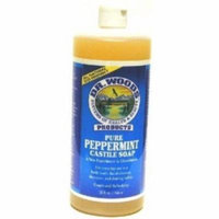 Dr. Woods Peppermint 32 oz. Castle Soap (3-Pack) with Free Nail File
