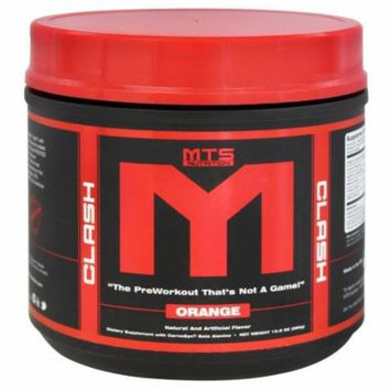 MTS Nutrition - Clash PreWorkout Orange - 290 Grams