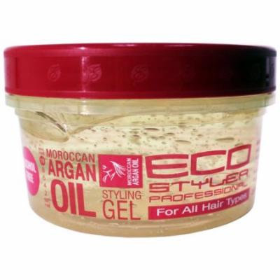 Eco Styling Gel with Argan Oil 8 oz. (Pack of 2)